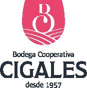 Bodega Cigales | Genuino color y sabor Rosado Logo