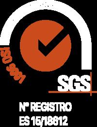 Certificado SGS ISO 9001